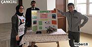 Şehit Medet Ekizceli Çok Programlı Anadolu Lisesi TÜBİTAK 4006 BİLİM FUARI - Kızılırmak - Çankırı - haber18