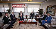 Siyasiler Enerji Bakanını Tekrar Ziyaret Ettiler  Haberleri - Çankırı Haber18