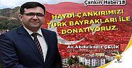 Türk Bayraklarıyla Donatılıyor - Siyaset - Çankırı - haber18