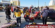 Üniversitede Trafik Kazası Tatbikatı Gerçekleştirildi  Haberleri - Çankırı Haber18