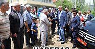 Vali Hamdi Bilge Aktaş, Yangın Çıkan Köyde İncelemelerde Bulundu - Yapraklı - Çankırı - haber18