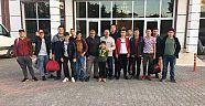 Yapraklı Gençlik Koordinatörlüğü Gezi Düzenledi - Yapraklı - Çankırı - haber18