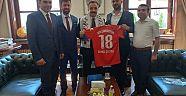 Çankırı - haber18 - 1074 Çankırıspor Yöneticileri Ankara'da Ziyaretlerde Bulundular - Çankırı Spor