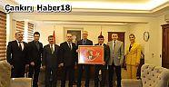 Yeni Yönetiminden Vali Hamdi Bilge Aktaş'a Ziyaret - STK  Haberleri - Çankırı Haber 18