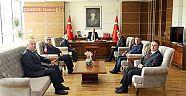 Ziraat Odası Başkanlığından Vali Hamdi Bilge AKtaş'a Ziyaret - STK  Haberleri - Çankırı Haber 18