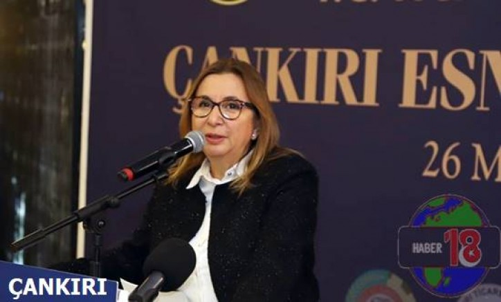 Çankırı haber18 - Ticaret Bakanı Ruhsar Pekcan İlimiz Esnafı ile Buluştu Siyaset - Çankırı resim görselleri