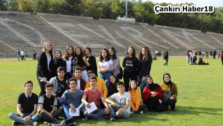 TOBB Fen Lisesi  Öğrencilerinde Üniversitelere Ziyaret Etti - Eğitim Çankırı haber18