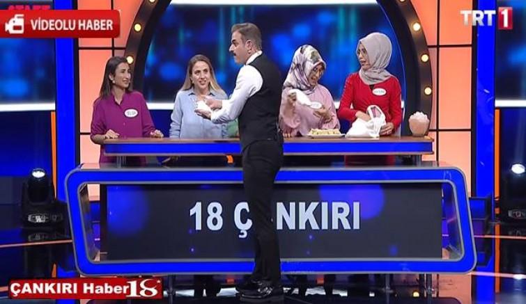TRT Aileler Yarışıyor da Çankırılılar Yarıştı - Genel Haber - haber18.com - Çankırı haberleri