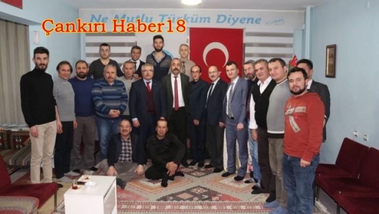 TÜRKAV Gazetecileri Ağırladı - STK - haber18.com - Çankırı haberleri