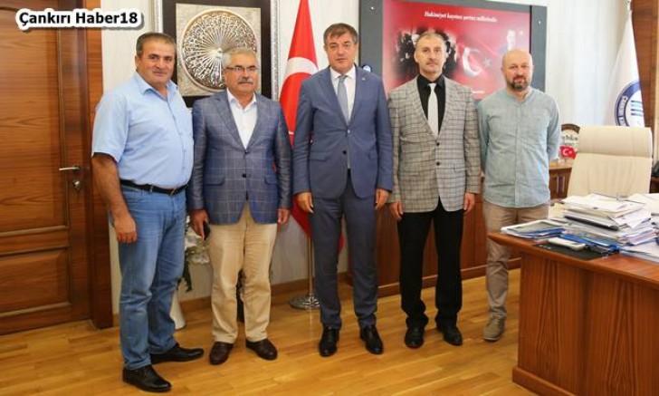 TÜRKAV Rektör Ayrancıyı Ziyaret Etti - STK - Çankırı - haber18