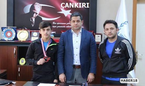 Türkiye Halter Şampiyonasında 3. Oldu - Spor - Çankırı - haber18