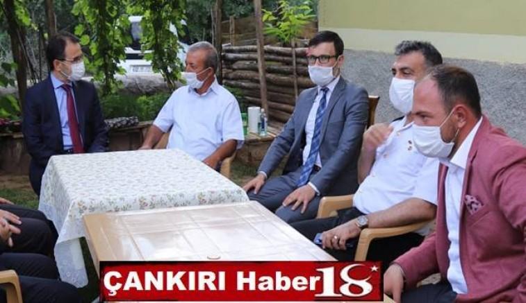Vali Abdullah AYAZ, Yapraklı ziyaretinde  Şehit ailesini ziyaret etti. - Çankırı Yapraklı Haber18 - attorney at law ,boat yacht  wealth luxury