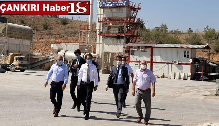 Çankırı Valisi Abdullah Ayaz, Çankırı Belediyesi Makine Bakım İkmal ve Onarım Müdürlüğü tesisini ziyaret etti - Çankırı Belediye Haber18 - attorney at law ,boat yacht  wealth luxury