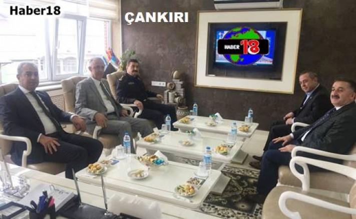 Vali Hamdi Bilge Aktaş, Belediye Başkanlarını Ziyaret Etti Çankırı Valilik - Çankırı