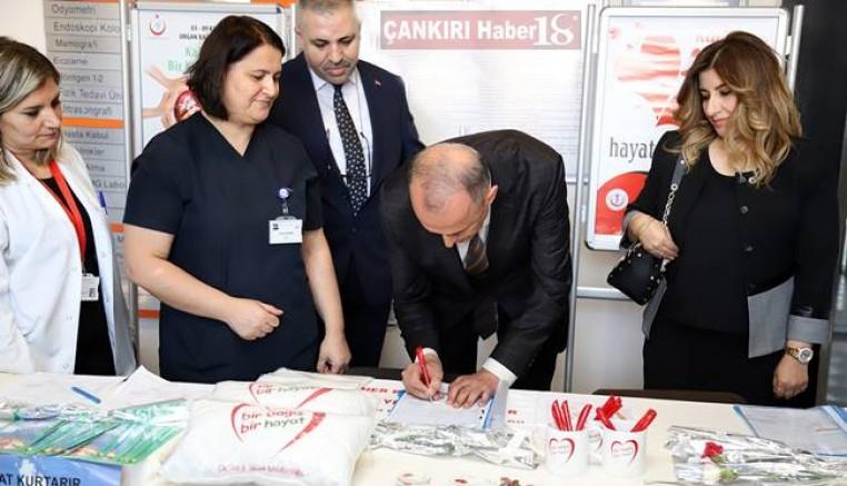 Çankırı - Vali Hamdi Bilge Aktaş, Tüm Organlarını Bağışladı - Hamdi Bilge Aktaş Çankırı haber18