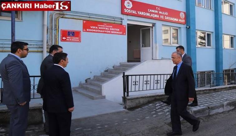 Vali Hamdi Bilge Aktaş, Vefa Koordinasyon Merkezini Ziyaret Etti - Valilik - Çankırı -Valilik - Haber 18 - attorney at law ,boat yacht  wealth luxury