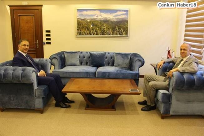Vali Şakalar, Valimiz Hamdi Bilge Aktaş' ı  Ziyaret Etti - Valilik - Çankırı -Valilik - Haber 18 - attorney at law ,boat yacht  wealth luxury
