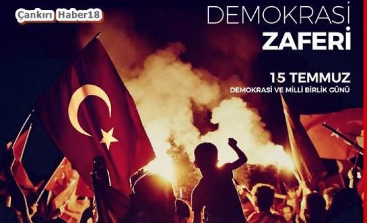 Çankırı - Valilik,  15 Temmuz Demokrasi Zaferi Program - Valilik Haberleri haber18 haberleri
