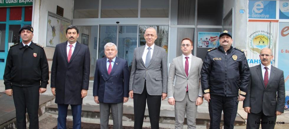 Vali Hamdi Bilge Aktaş, Şabanözü Belediyesini Ziyaret Etti.