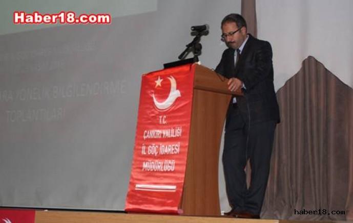 Yabancılara Yönelik Bilgilendirme Toplantısı Kurumlar - Çankırı