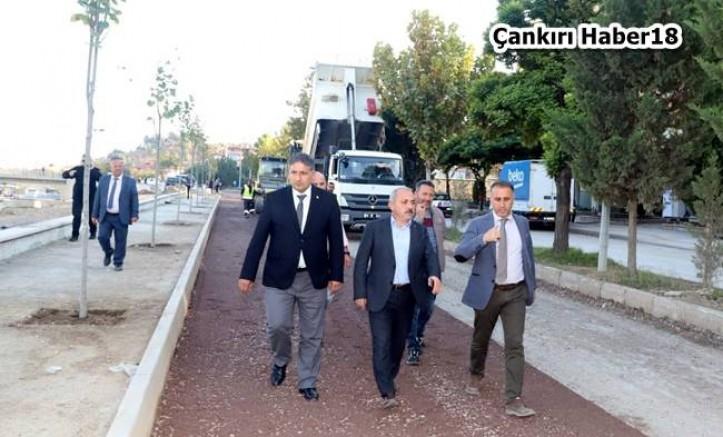 Çankırı - Yanlar Caddesine Altyapı ve Asfalt - Belediye Çankırı haber18