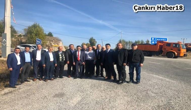 Çankırı - Yapraklı Dernekler Federasyonu Ziyaretler Gerçekleştirdi - Yapraklı Çankırı haber18