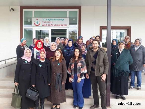 Çankırı - Yapraklılı Hanımlar Dünya Diyabet Gününde Yürüdüler - Yapraklı haberleri haber18 haberleri