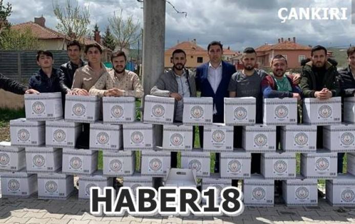 Çankırı - Yayla Kentli Gençler İstanbul'da Kumanya Getirdiler - Orta Haberleri haber18 haberleri
