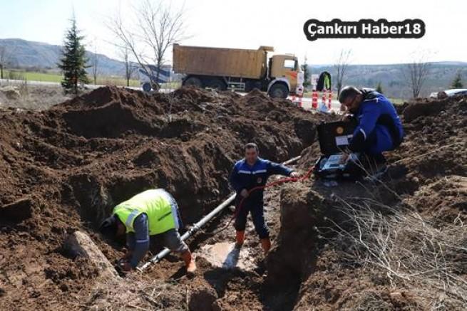 çankırı - Yeni Yerleşim Alanlarına İçme Suyu Hattı Çankırı Belediyesi