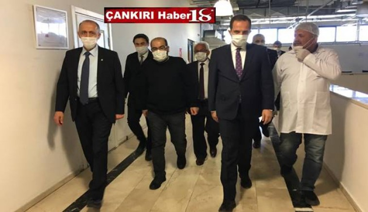 Vali Hamdi Bilge  Aktaş ve Milletvekili Salim Çivitçioğlu, Korgun'da Maske Üreten Fabrikayı Ziyaret Ettiler - Korgun Haber18 - luxury yacht cruises attorney at law ,boat yacht  wealth luxury