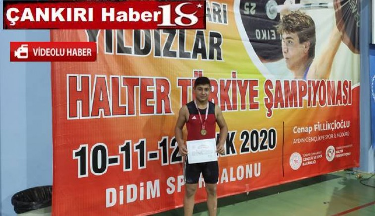 Mert Yılmaz, Halterde Türkiye Şampiyonu Oldu - Spor - haber18.com - Çankırı haberleri