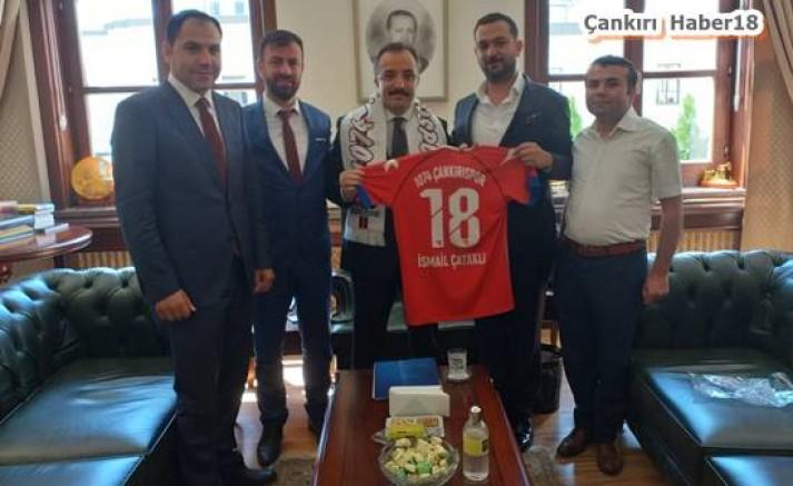 1074 Çankırıspor Yöneticileri Ankara'da Ziyaretlerde Bulundular - Spor - Çankırı -Spor - Haber 18 - attorney at law ,boat yacht  wealth luxury