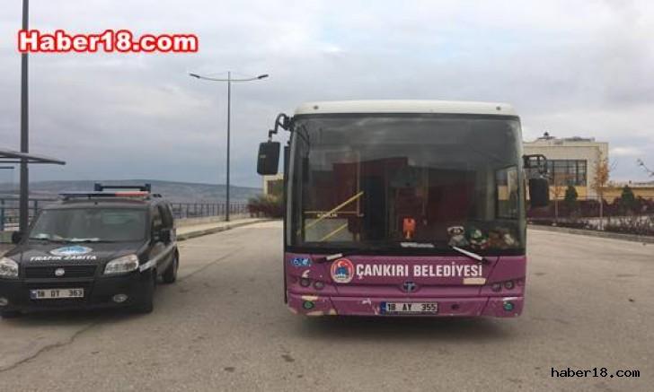 Zabıta Ekipleri Halk Otobüslerini Denetledi Çankırı Belediye haber18 çankırı